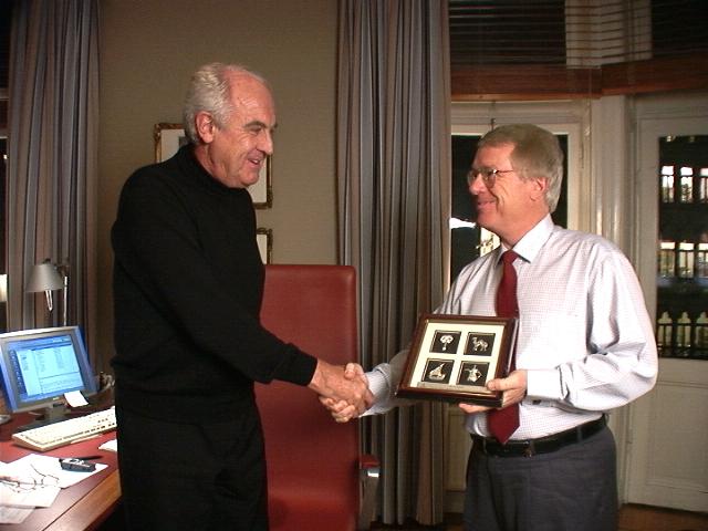 Richard with Jan Carlzon